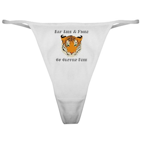 Gluten Free Tiger Classic Thong