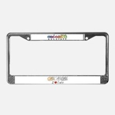 I Heart Cats License Plate Frame