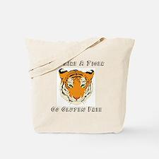 Gluten Free Tiger Tote Bag