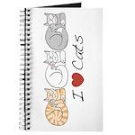 I Heart Cats Journal
