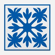 Hawaiian Quilt Tile Coaster
