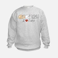 I Heart Cats Sweatshirt
