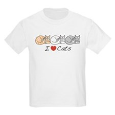 I Heart Cats T-Shirt