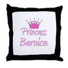 Princess Bernice Throw Pillow