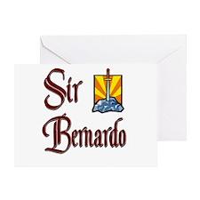 Sir Bernardo Greeting Card