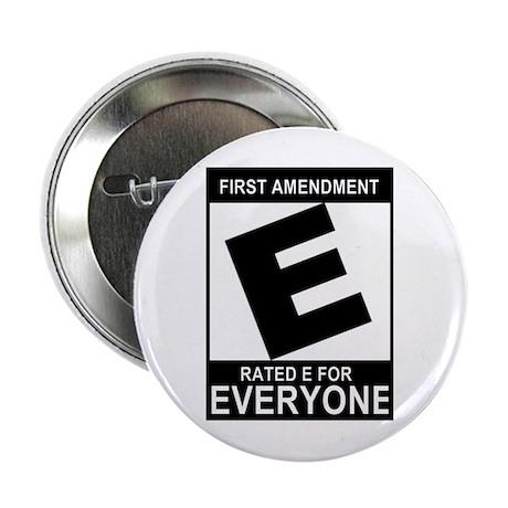 """1st Ammendment - 2.25"""" Button (10 pack)"""