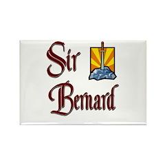 Sir Bernard Rectangle Magnet (10 pack)