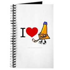 I heart Traffic Cones Journal