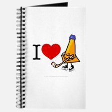 I heart Traffic Cones Journal