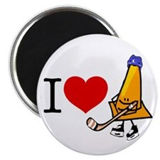 I heart Traffic Cones Magnet