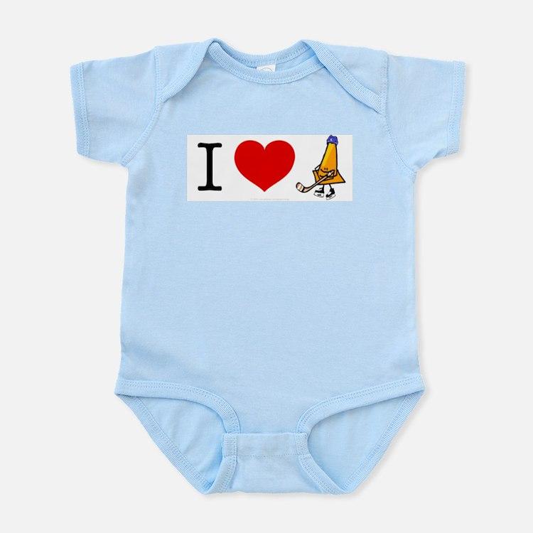I heart Traffic Cones Infant Creeper