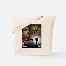 Barack goes to Washington II Tote Bag