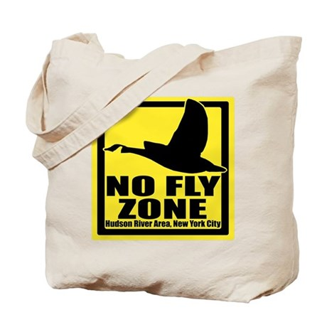 No Fly Zone Tote Bag