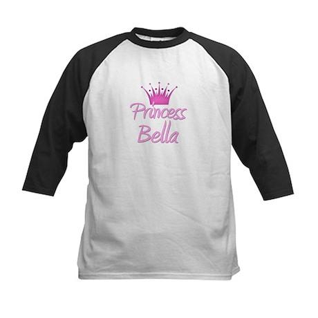 Princess Bella Kids Baseball Jersey