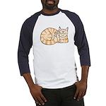 OrangeTabby ASL Kitty Baseball Jersey