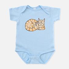 OrangeTabby ASL Kitty Infant Bodysuit