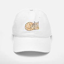 OrangeTabby ASL Kitty Baseball Baseball Cap