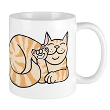 OrangeTabby ASL Kitty Mug