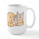 OrangeTabby ASL Kitty Large Mug