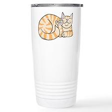 OrangeTabby ASL Kitty Travel Mug