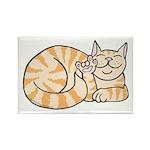 OrangeTabby ASL Kitty Rectangle Magnet (10 pack)