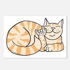 OrangeTabby ASL Kitty Postcards (Package of 8)