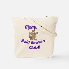 Member Bald Beavers Club Tote Bag