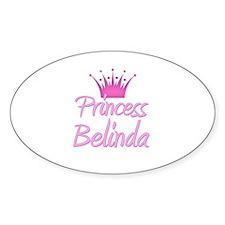 Princess Belinda Oval Decal