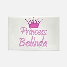 Princess Belinda Rectangle Magnet