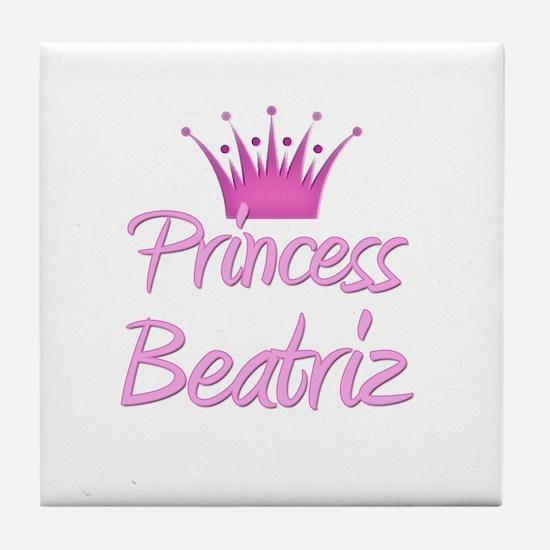 Princess Beatriz Tile Coaster