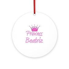 Princess Beatriz Ornament (Round)