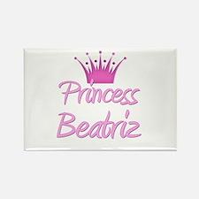 Princess Beatriz Rectangle Magnet