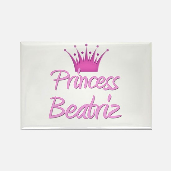Princess Beatriz Rectangle Magnet