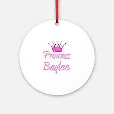 Princess Baylee Ornament (Round)