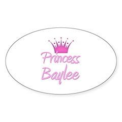 Princess Baylee Oval Decal