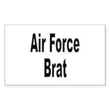 Air Force Brat Rectangle Decal