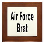 Air Force Brat Framed Tile