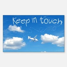 Keep In Touch Sticker (Rectangle)