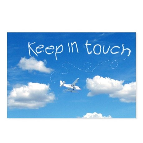 Keep In Touch Postcards (Package of 8)
