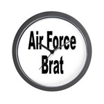 Air Force Brat Wall Clock