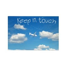 Keep In Touch Rectangle Magnet (10 pack)