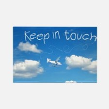 Keep In Touch Rectangle Magnet