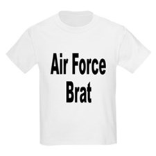 Air Force Brat (Front) Kids T-Shirt