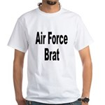 Air Force Brat (Front) White T-Shirt