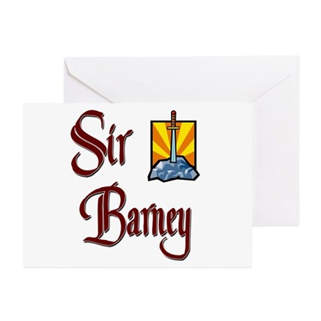 Sir Barney Greeting Cards (Pk of 10)