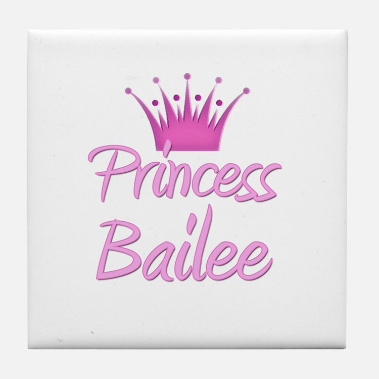 Princess Bailee Tile Coaster