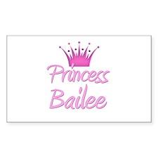 Princess Bailee Rectangle Decal