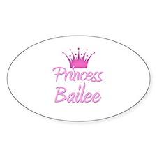 Princess Bailee Oval Decal