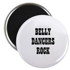 BELLY DANCERS ROCK Magnet