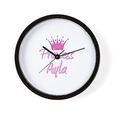 Princess Ayla Wall Clock